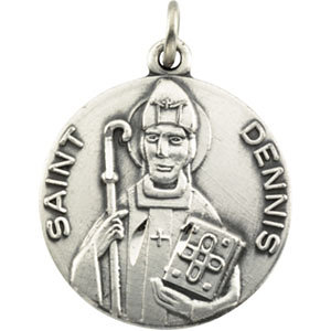 St. Dennis Medal Necklace