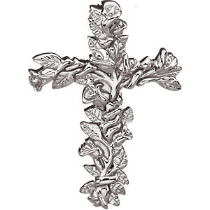 Floral Style Cross