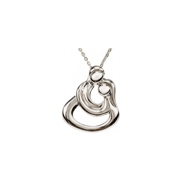 Embraced by the Heart™ Couples Necklace