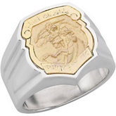 St. Michael Badge Ring