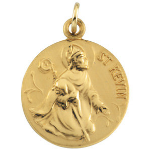 Round St. Kevin Medal