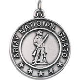 St. Michael / U.S. National Guard Medal