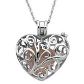 Always in my Heart Locket Necklace