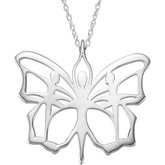Butterfly Ballet® Pendant or Necklace