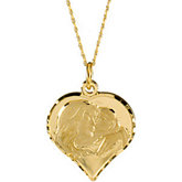 My Beautiful Child™ Heart Pendant or Necklace by Susan Howard