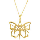 Butterfly Ballet® Charm or Necklace