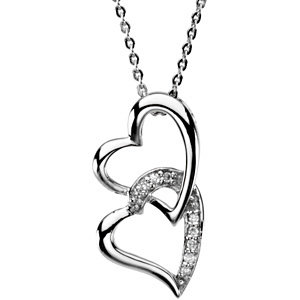 Sisters by Heart Pendant & Chain