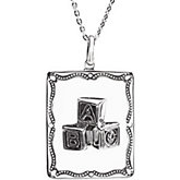 A Baby is a Gift  Pendant & Chain