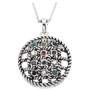 12 Steps to Sobriety Necklace