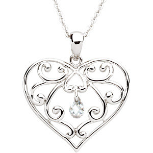 The Healing Heart™ Pendant & Chain