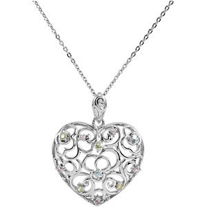 Desires of the Heart Pendant & Chain