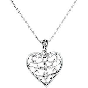 The Worth of a Mother Pendant & Chain
