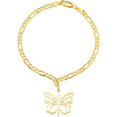 Butterfly Ballet® Bracelet with Large Charm
