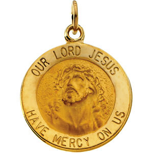 Round Our Lord Jesus Medal