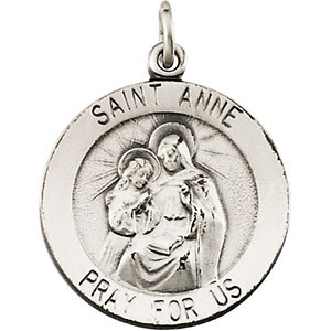 Round St. Anne de Beau Pre Medal