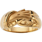 Hand of Christ Ring