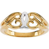 Ichthus (Fish) Ring