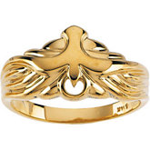 Holy Spirit Dove Ring