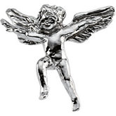 Flying Angel Lapel Pin