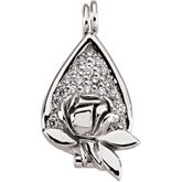 Memorial Tear® Diamond Locket