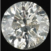 I2 ROUND FULL CUT K-L GENUINE DIAMOND
