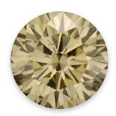 I1 ROUND FULL CUT GOLDEN YELLOW GENUINE DIAMOND