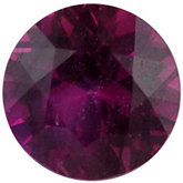 Genuine Round Madagascar Ruby