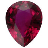 Genuine Pear Madagascar Ruby