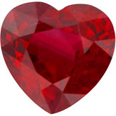 Heart Genuine Ruby