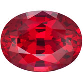 Oval Chatham Created Ruby