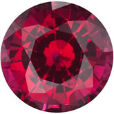 Round Chatham Created Ruby