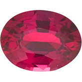 Oval Genuine Madagascar Ruby