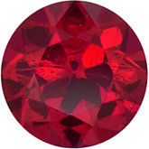 Round Genuine Madagascar Ruby