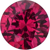 Round SWAROVSKI GEMS™ Genuine Ruby