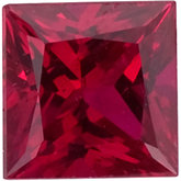 Square Genuine Ruby