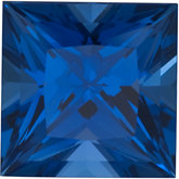 Square Chatham Created Blue Sapphire