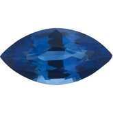 Genuine Blue Sapphire - Marquise Faceted Ceylon Color; AA Quality