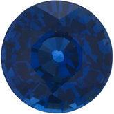 Genuine Blue Sapphire - Round Faceted Ceylon Color; AA Quality