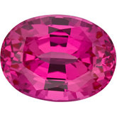 Oval Chatham Created Pink Sapphire
