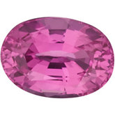 Genuine Pink Sapphire - Oval Faceted; AAA Quality
