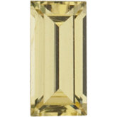 Straight Baguette Natural Yellow Sapphire