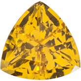 Trillion Lab Created Yellow Sapphire