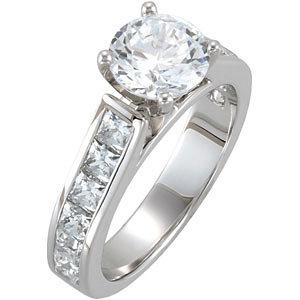 Diamond Engagement Ring or Base