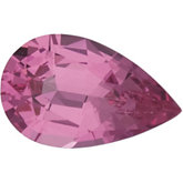 Pear Genuine Pink Spinel