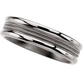 6.0mm Titanium Band