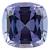 Genuine Tanzanite - Antique Square Faceted; AA Quality