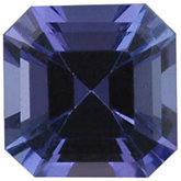 Genuine Tanzanite - Square Modified -Non-Returnable; AA Quality