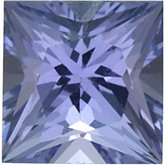 Square Genuine Tanzanite