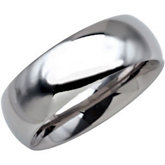 8.3mm Dura Tungsten® Domed Band