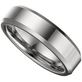 6.3mm Dura Tungsten® Beveled Band
